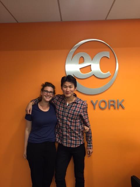 Heejong Improves his English at EC New York English Center
