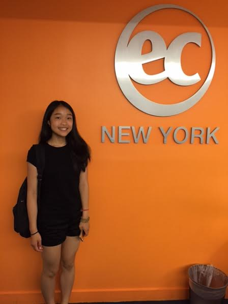 Vita from Russia studied English in New York with EC