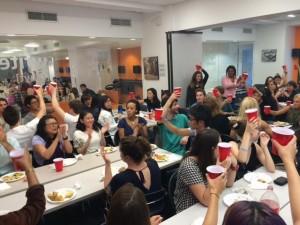 International Food Festival at EC New York English School