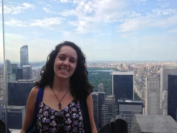 Marina is learning English in New York with EC!