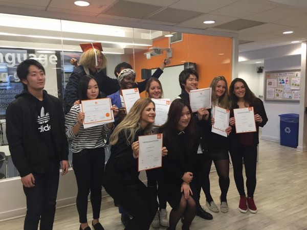 Eliete shares her experience while learning English in New York
