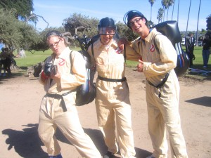 Who you gonna call?  GHOSTBUSTERS!!!