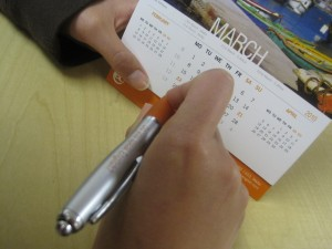 The EC Pen and Calendar