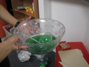 Yummy!  Green punch!!  :-)