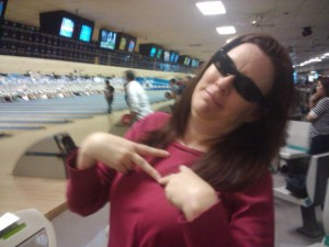 Heather, Assistant Academic Director, played with her lucky shades!