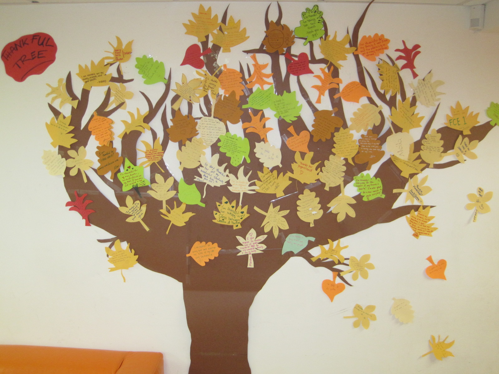 Happy thanksgiving with ec san diego ec san diego blog for Thankful tree craft for kids