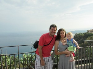 The Di Zinno family in Taormina, Sicily
