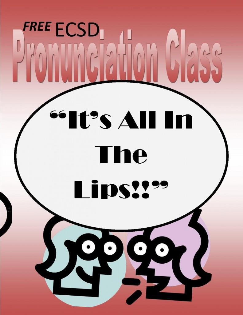 Pronunciation Class