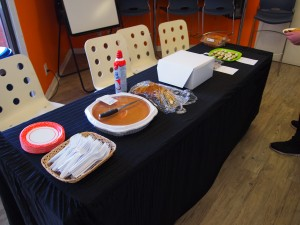 EC San Diego provided pumpkin pie for everyone to try