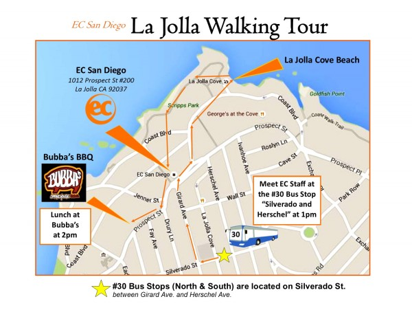 Walking Tour Map 2016