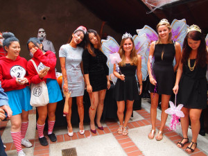 EC San Diego students dress up for the annual Halloween party.