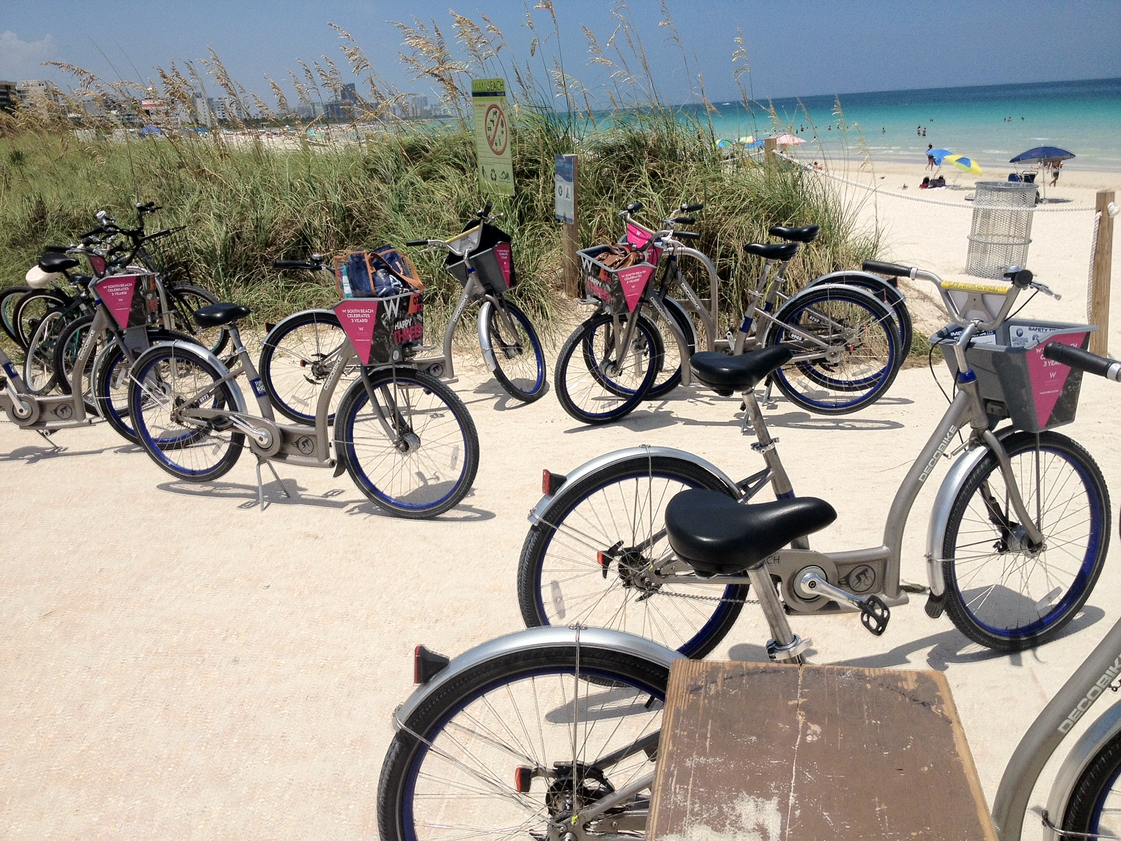 Bikes Miami Beach feet or your bikes to get