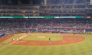 It is rarely a full house at Miami Marlins games.