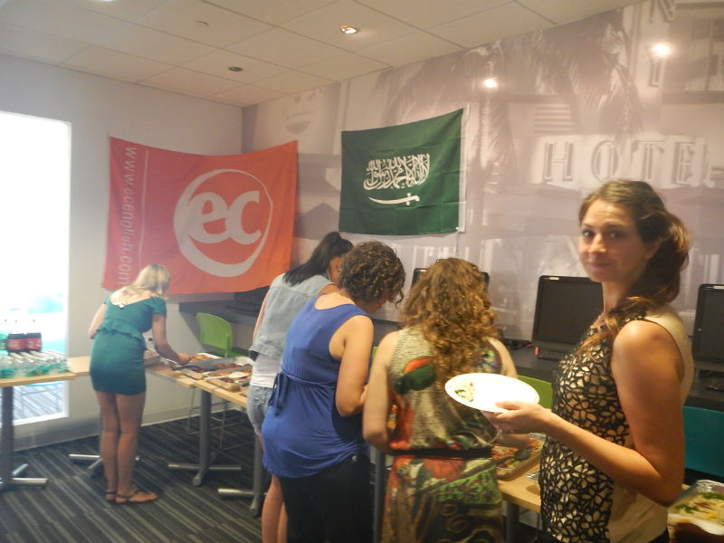 Saudi Arabian Cultural Day at ESL Miami school