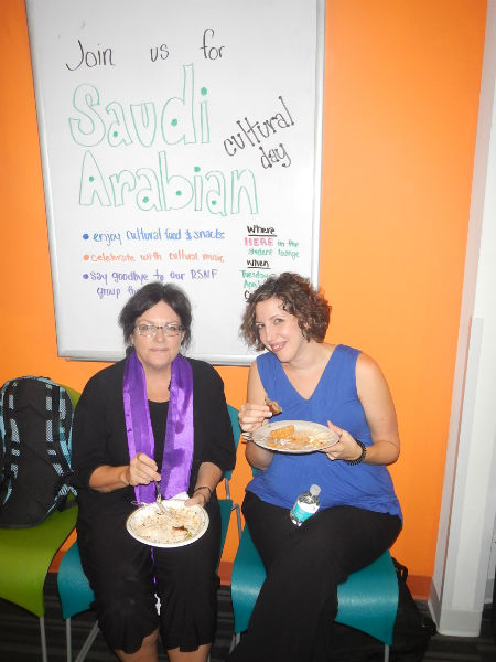 Saudi Arabian Cultural Day at ESL Miami school