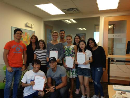 Gammal's EC Miami Graduating Class of September 25