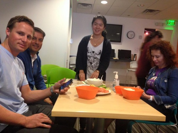 Full Immersion English Course students enjoy Sushi Party in Miami