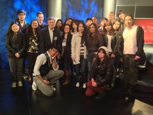 StudentsonTVset