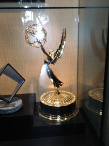 This is one of Dolby studios Emmy Awards.  The Emmy's are Television Awards and a pretty big deal!