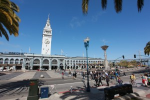 Ferry Building, Intermediate level English course in San Franciso