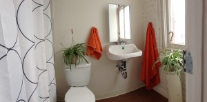 At the Monastery, every room has its own full bathroom!