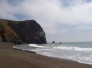 Tennessee Valley beach (photo by Patricia A Leslie, artist / author)