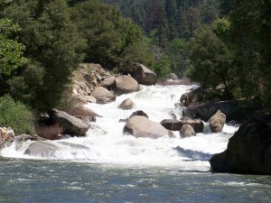 Kings River, Kings Canyon National Park (photo by Karl Smith and/or Patricia Leslie, artist / author)