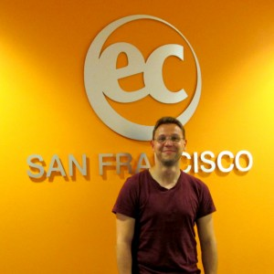 David from Germany talks about why he decided to study English in the USA at EC San Francisco