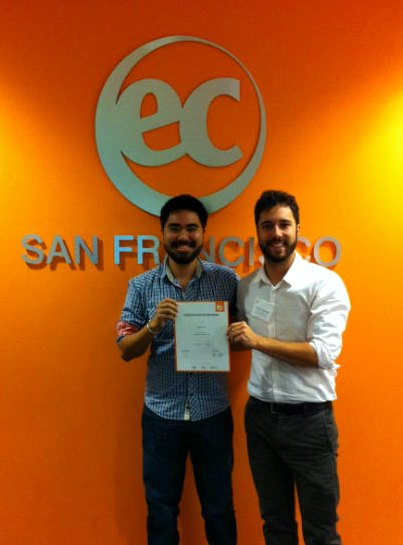 Andre's Student Testimonial about EC SF nd how to make the most of studying at an English school in San Francisco