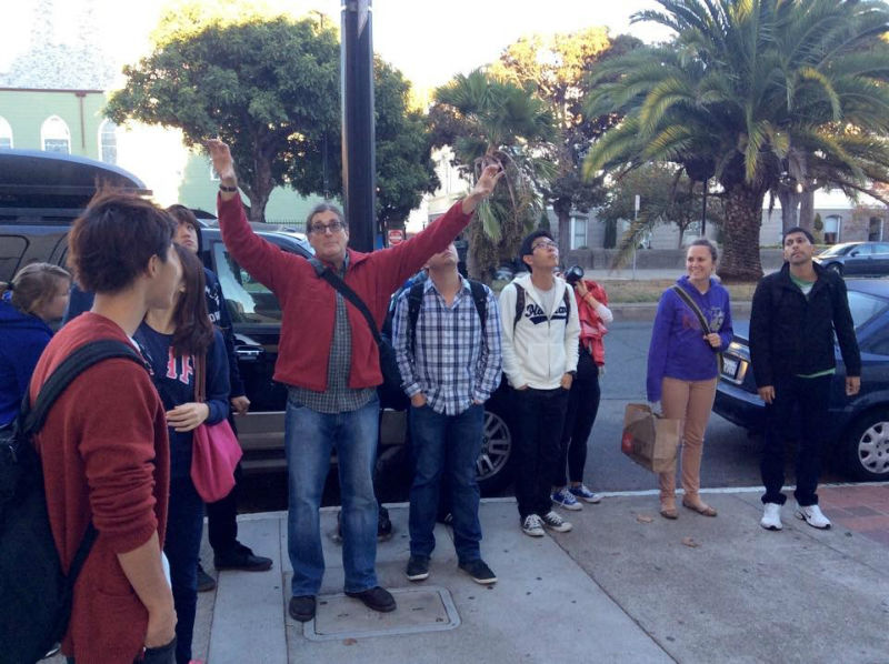 Learn about the city at EC San Francisco while you take English courses in the USA!