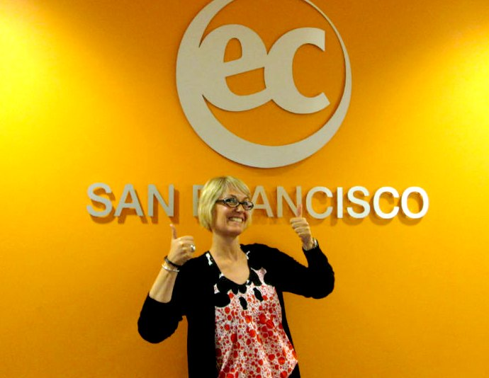 Stephanie's Testimonial about the best way to take advantage of English courses in San Francisco