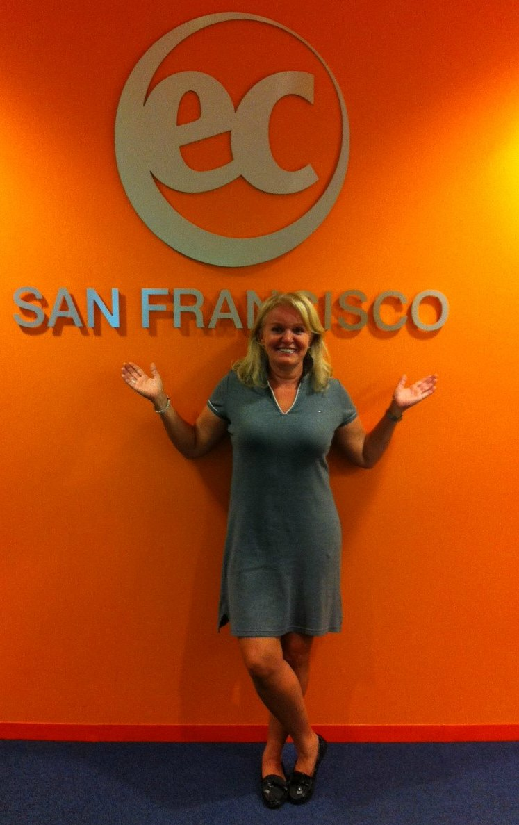 Sylvia's EC San Francisco Testimonial about the reasons to study English in the USA