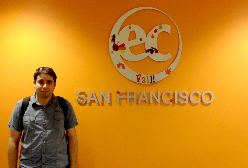 Micael talks about why a student should learn English for academic purposes in San Francisco
