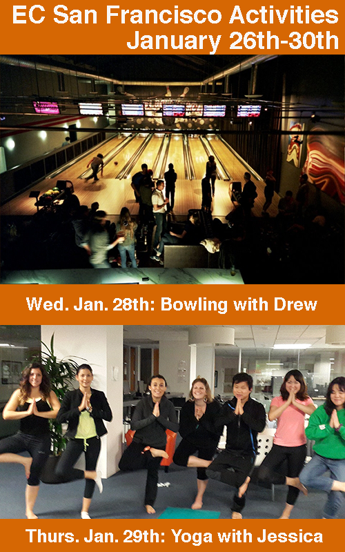Bowling and Yoga in San Francisco