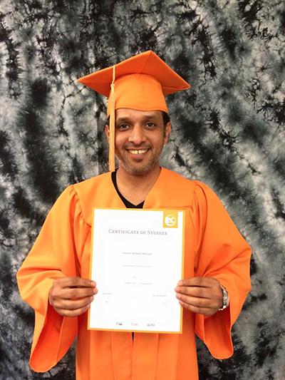 ELM Border Guard Graduate: Ghanem Alyousef