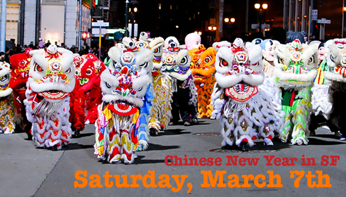Study English in San Francisco  and celebrate Chinese New Year in San Francisco