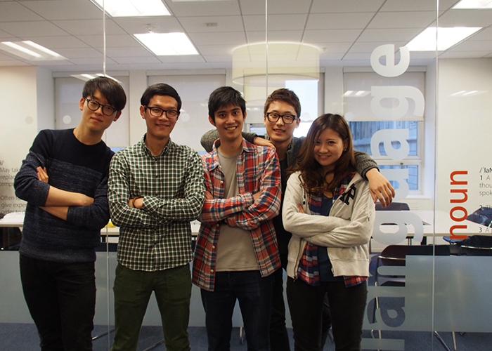 Masashi Yamamoto studies English at EC San Francisco