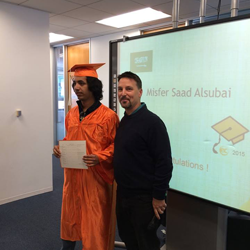 saudi arabia English study San Francisco