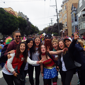 EC students study ESL in San Francisco and enjoy life in San Francisco