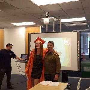 Nora graduates from EC San Francisco