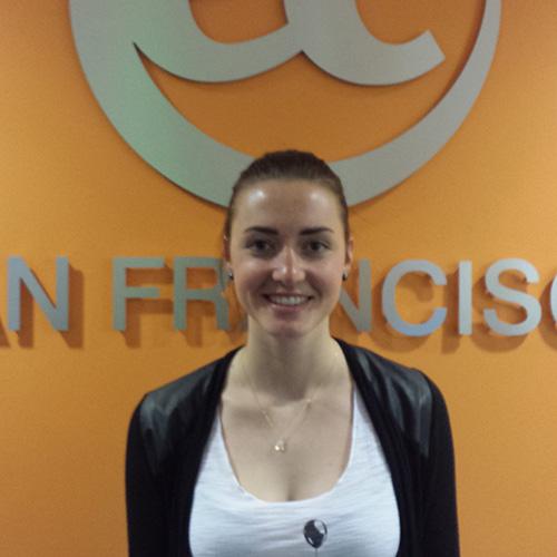 Rahel became student ambassador at EC San Francisco