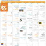 Activity Calendar for June 2015 at EC San Francisco