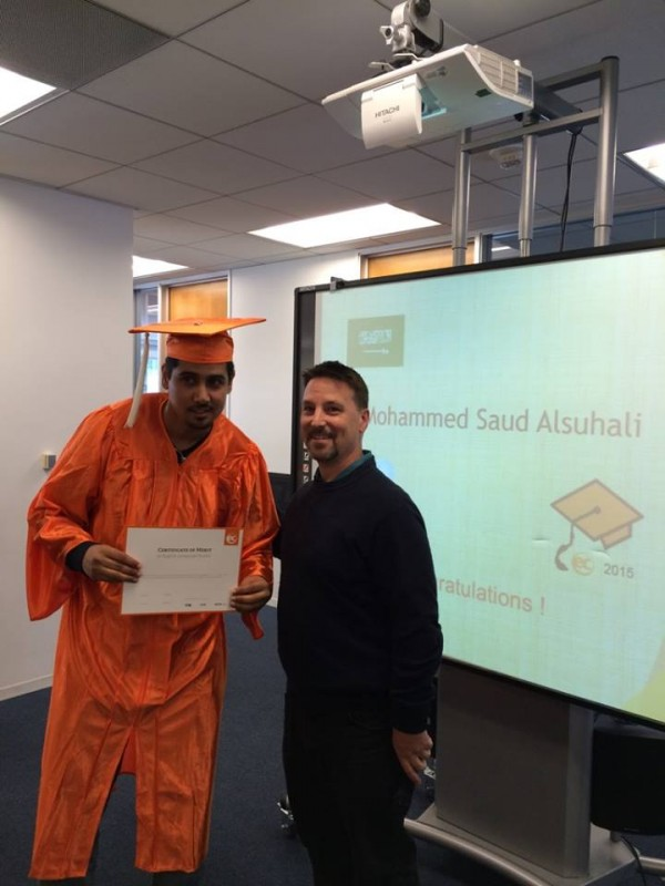 "Mohammed from Saudi Arabia: ""Focus on Speaking"""