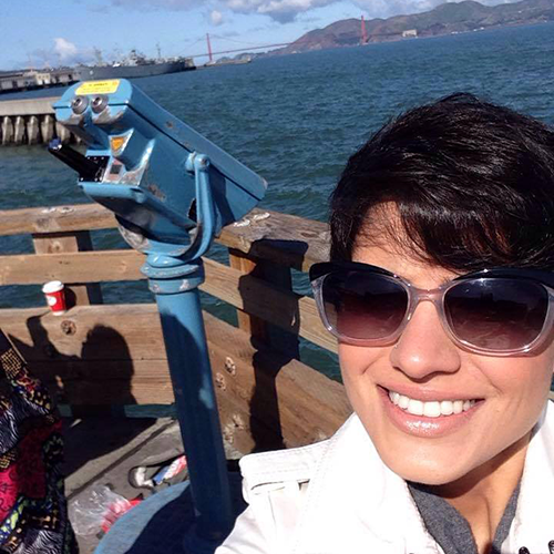 Mariana studied at EC San Francisco for several weeks.  Have fun and study ESL in San Francisco!