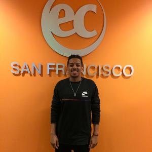 Qusai graduated and studied English in San Francisco
