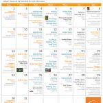 August 2015 EC San Francisco Activities Calendar