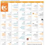 EC San Francisco Activity Calendar for September