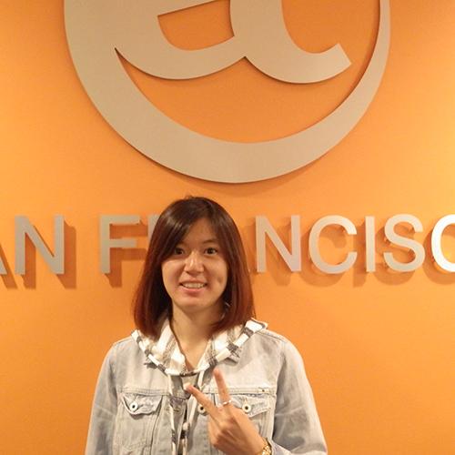 EC San Francisco English Center Student Ambassador, Tung introduces herself