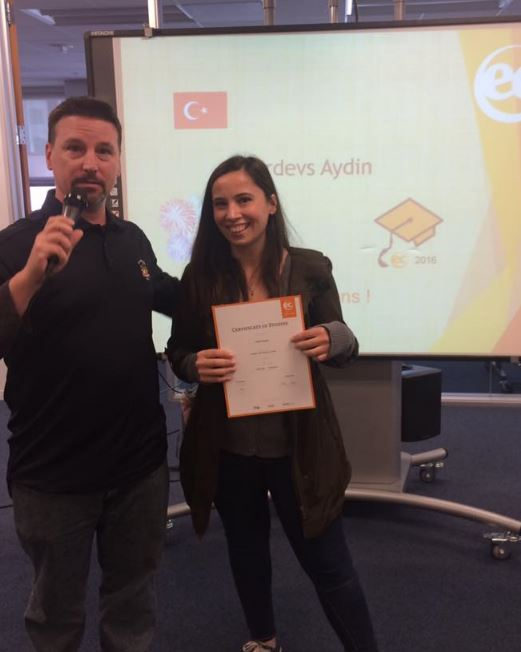 Firdevsita from Istanbul shares some thoughts about her time at EC San Francisco