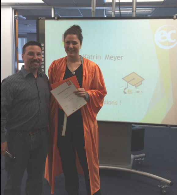 Katrin Meyer talks about her English learning experience at EC San Francisco